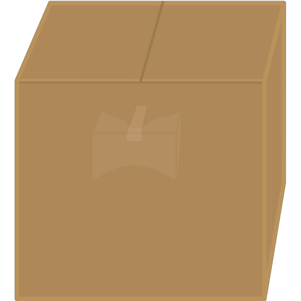 Elkbuntu Cardboard Box PNG images