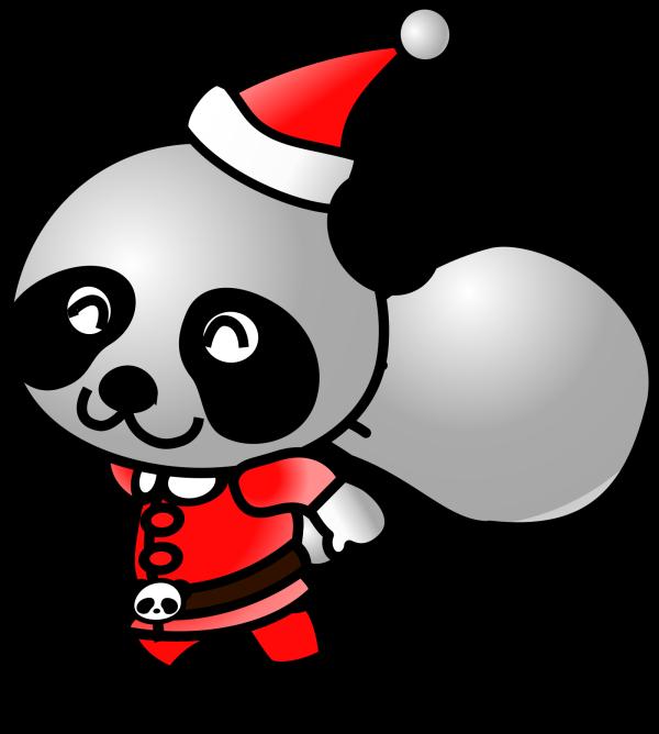 Friendly Panda PNG Clip art