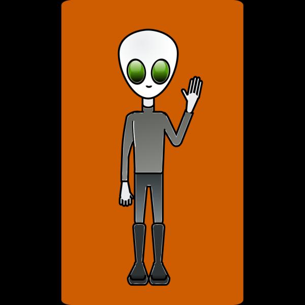 Mairin Alien Dude PNG Clip art