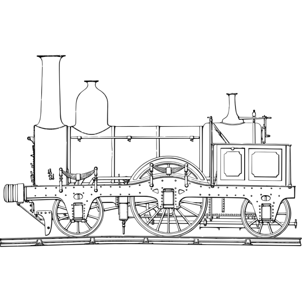 Steam Train Engine PNG Clip art