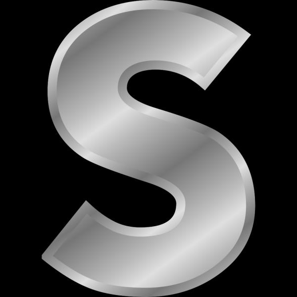 Effect Letters Alphabet Silver PNG Clip art