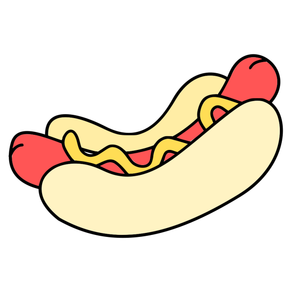 Hotdog Sandwitch PNG Clip art