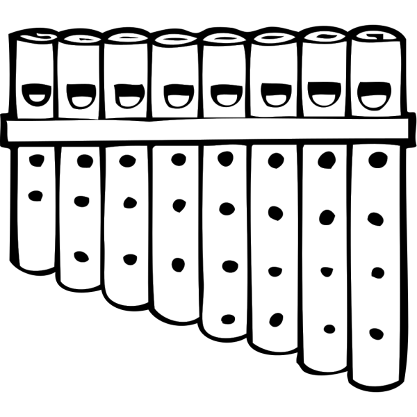 Pan Pipes PNG Clip art