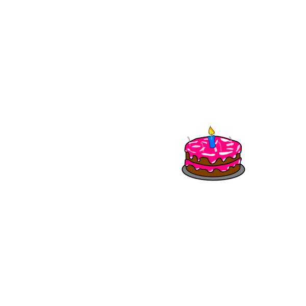 Freephile Cake PNG Clip art
