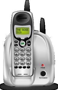 Cordless Phone PNG Clip art
