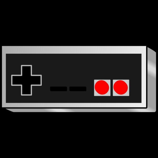 Bhspitmonkey Old School Game Controller PNG Clip art