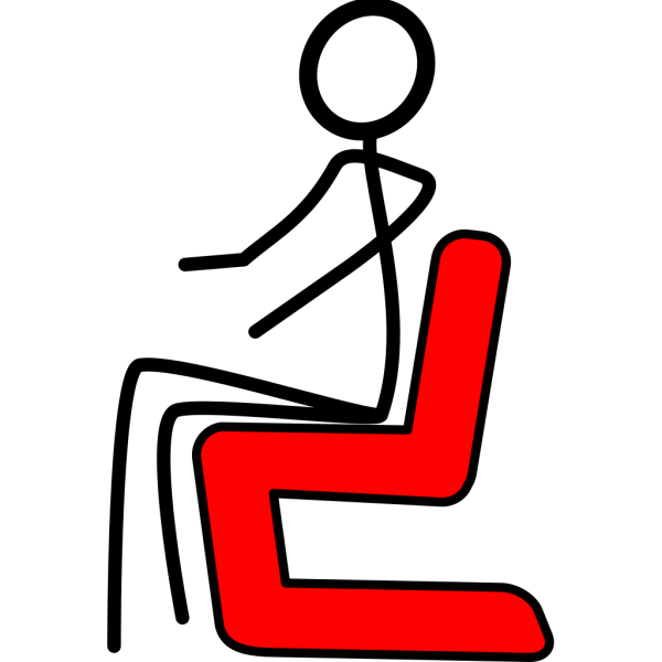 Lounge Chair Red PNG Clip art