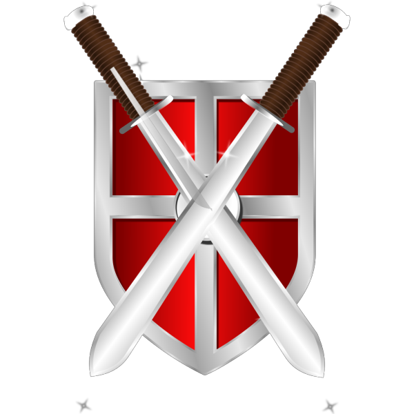 Swords And Shield PNG Clip art