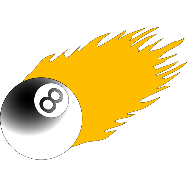 Ball With Flames 2 PNG Clip art