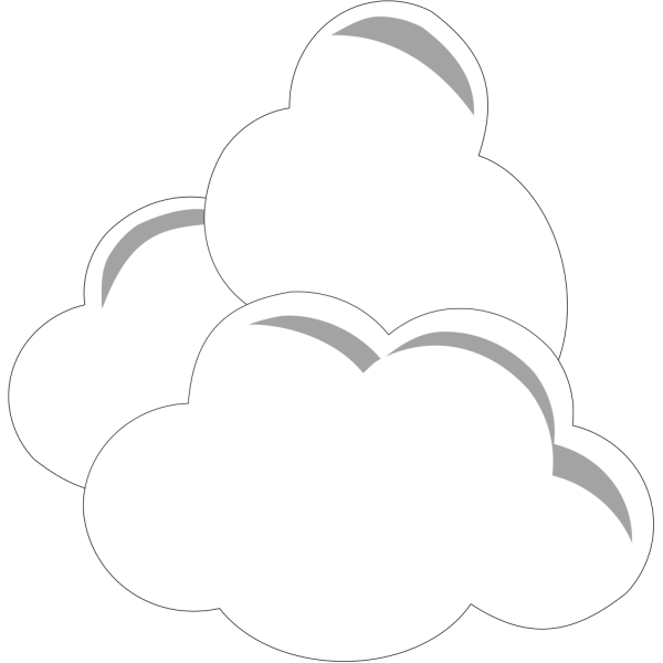 Clue Simple Clouds PNG Clip art