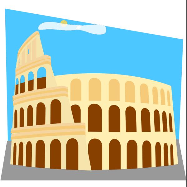 Roman Colosseum PNG Clip art