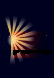 Sunset Rays PNG Clip art