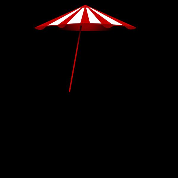 Tomk Red White Umbrella PNG Clip art