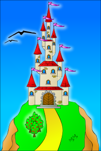 Castle On The Hill PNG Clip art