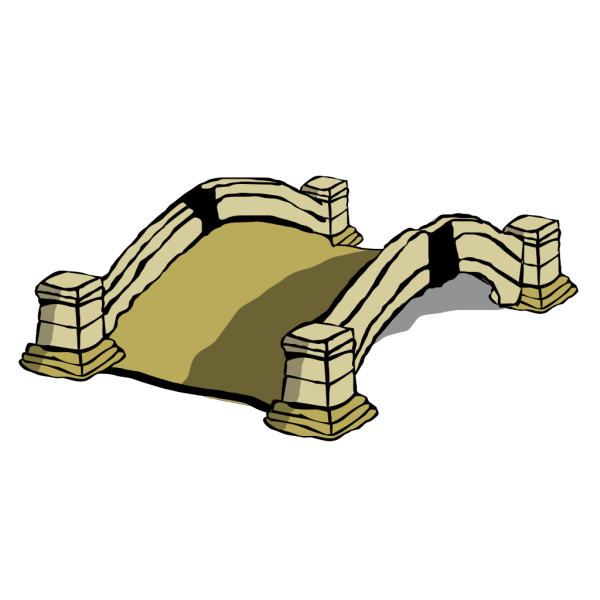 Old Bridge PNG Clip art