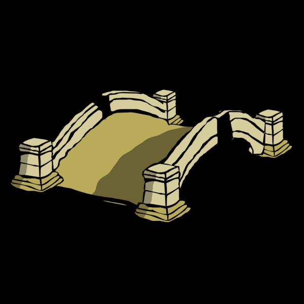 Old Bridge PNG Clip art