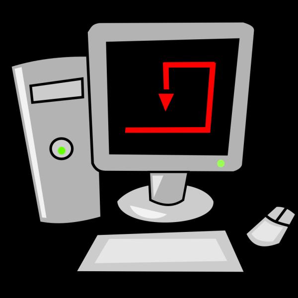 Computer Cartoon Desktop PNG Clip art