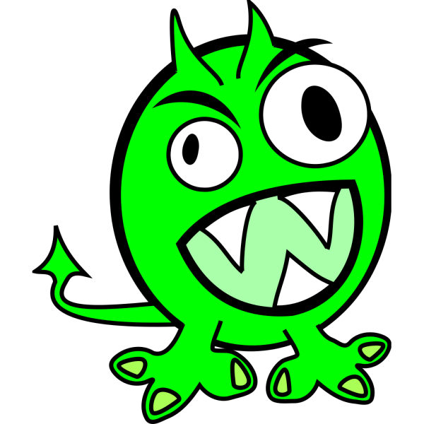 Green Monster PNG icons