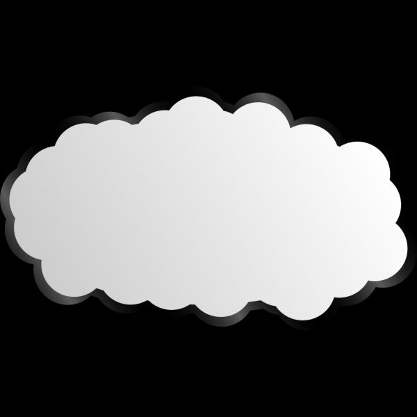 Simple Cloud PNG Clip art