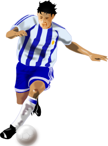 Futbolista Soccer Player PNG icons