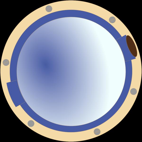 Porthole Window Ship PNG Clip art