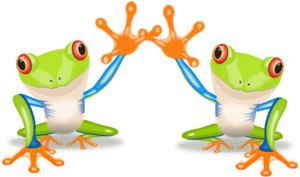 Two Frogs PNG icon