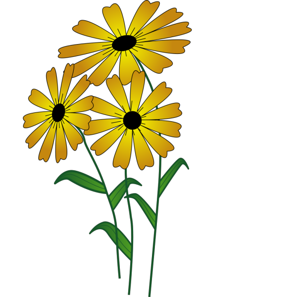 Flowers In A Vase PNG Clip art