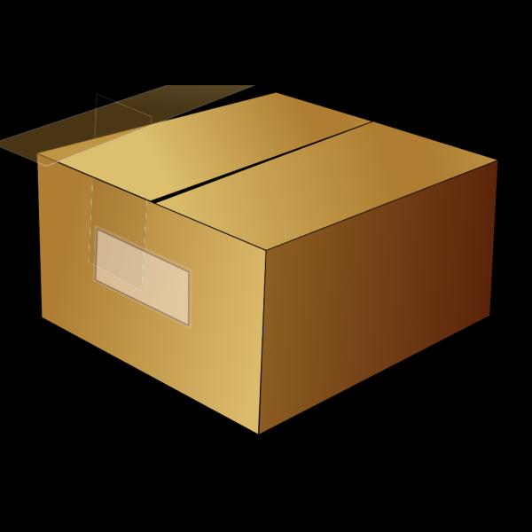 Closed Carton Box PNG Clip art