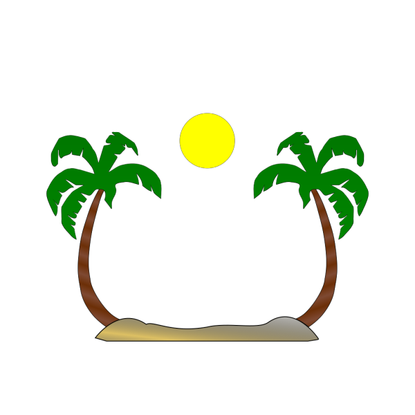 At The Beach PNG Clip art