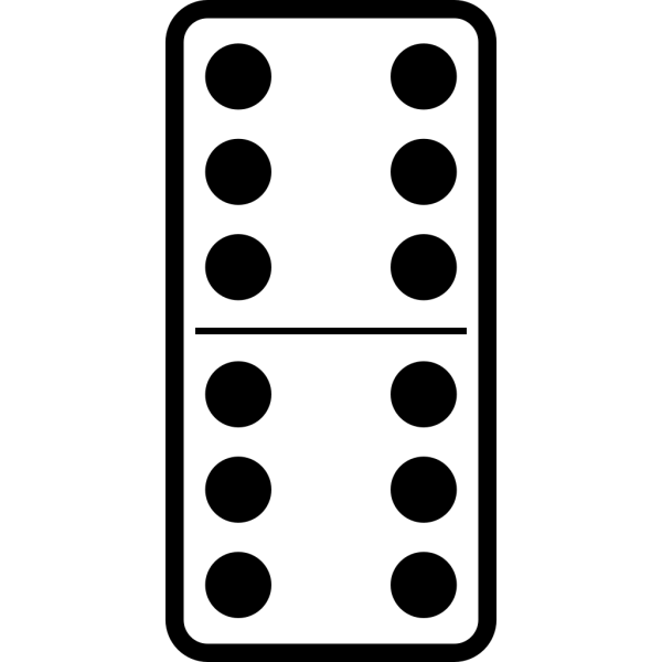 Domino Set 27 PNG images