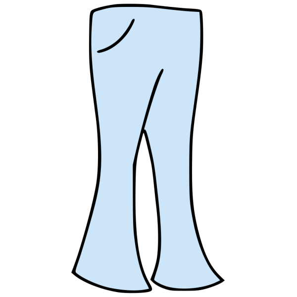Clothing Pants Bell Bottoms PNG Clip art