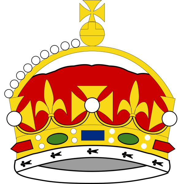 Crown Of George Prince Of Wales PNG Clip art