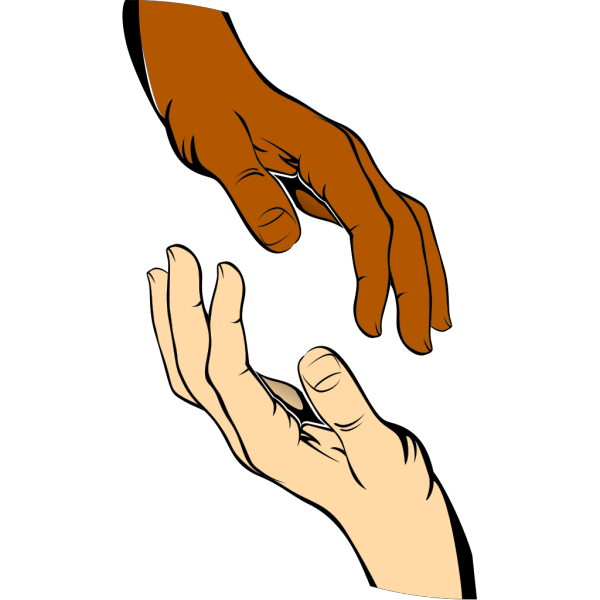 Touching Hands PNG Clip art