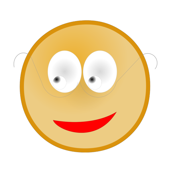 Smiley With Glasses PNG Clip art