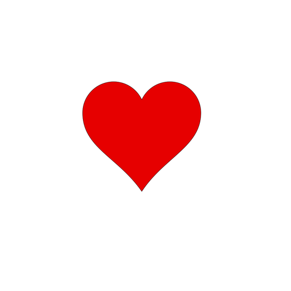 Heart Outline PNG Clip art