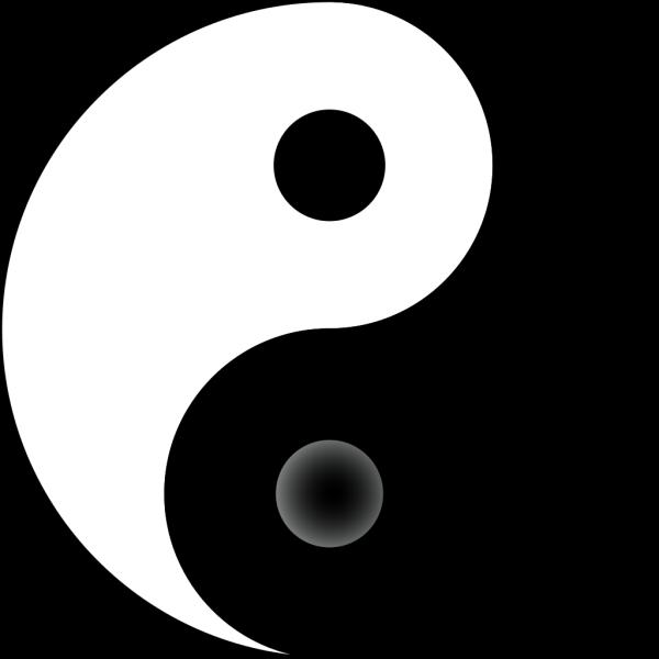 Yin Yang 3 PNG Clip art