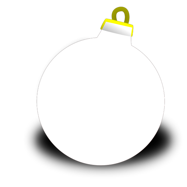 Xmas Ornament Shiney Ball PNG Clip art