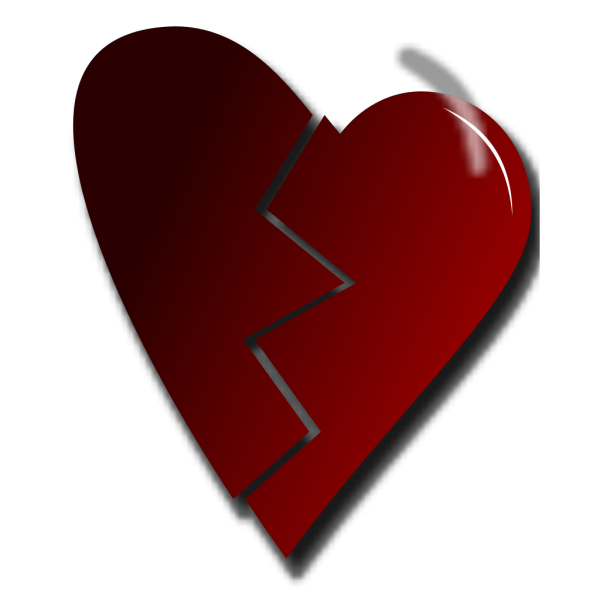 Broken Heart PNG Clip art