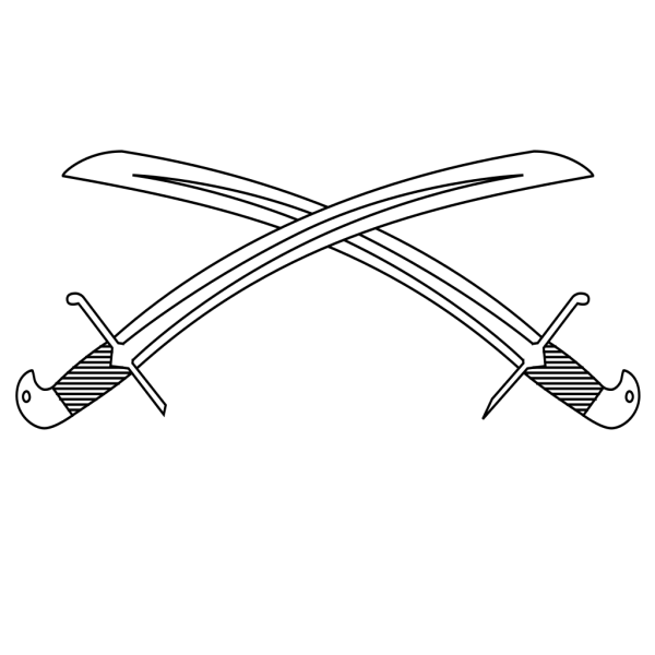 Crossed Swords PNG Clip art