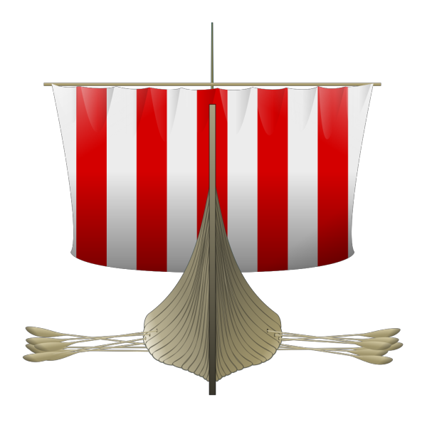 Viking Longship PNG Clip art