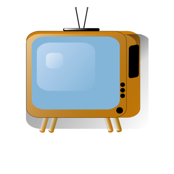 Old Styled Tv Set PNG Clip art