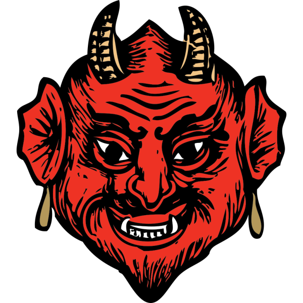 Devil Head PNG Clip art
