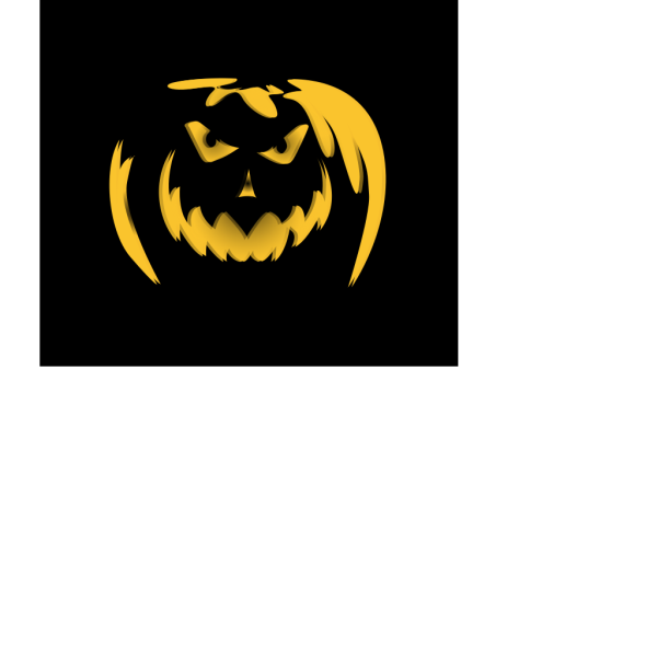 Scary Dark Night Pumpkin Ghost Lantern PNG Clip art