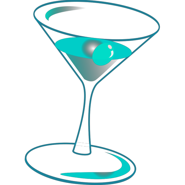 Glass With Drink PNG Clip art
