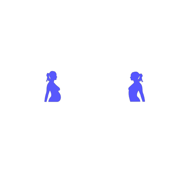 Pregnancy Silhouette 4 PNG images
