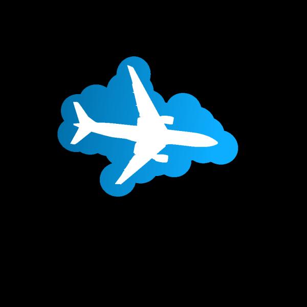Plane Silhouette PNG Clip art