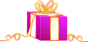 Wrapped Gift PNG Clip art
