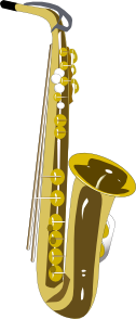 Saxophone  2 PNG images