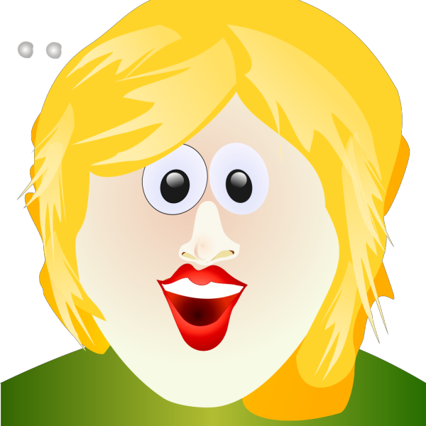 Smiley Girl PNG Clip art