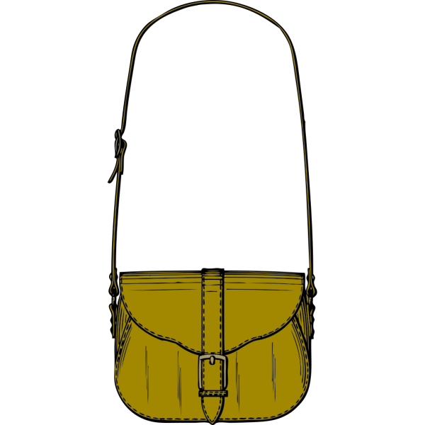 Leather Purse PNG Clip art
